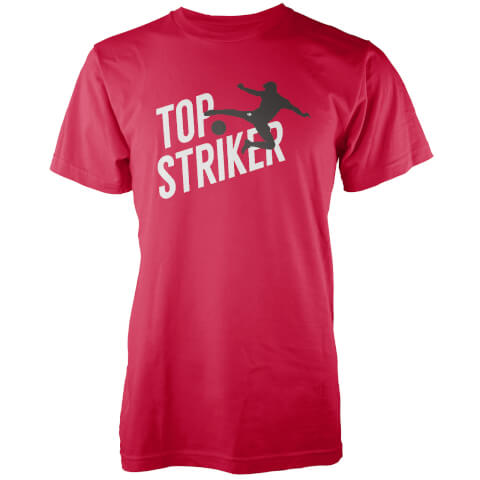 T-Shirt Homme Top Striker - Rouge