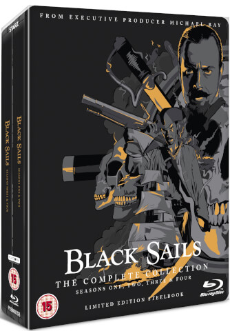 Black Sails: The Complete Collection - Limited Edition Steelbook