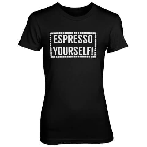 Espresso Yourself! Women's Black T-Shirt