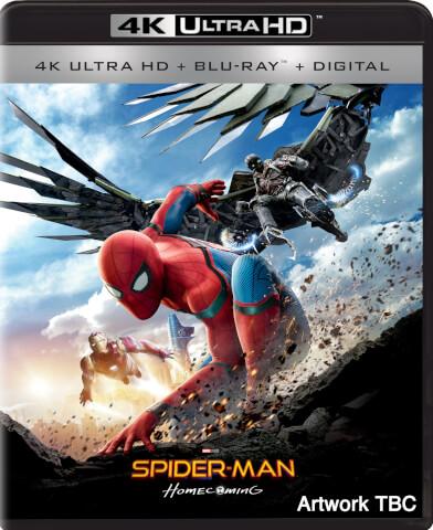 Spider-Man Homecoming - 4K Ultra HD + Comic Book