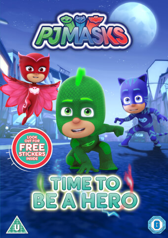 PJ Masks - Time To Be A Hero