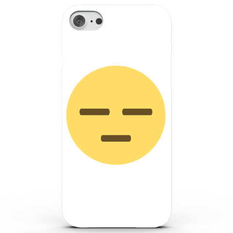 Coque iPhone & Android Emoji Meh - 4 Couleurs