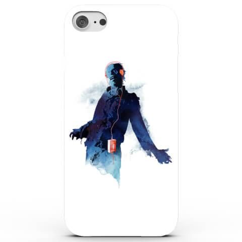 Coque iPhone & Android Zombie au Walkman - 4 Couleurs