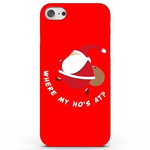 Santa Where My Ho's at Phone Case for iPhone & Android - 4 Colours