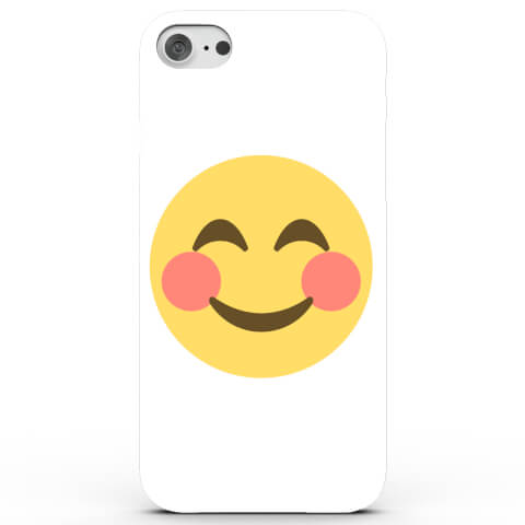 Coque iPhone & Android Emoji Rougit - 4 Couleurs
