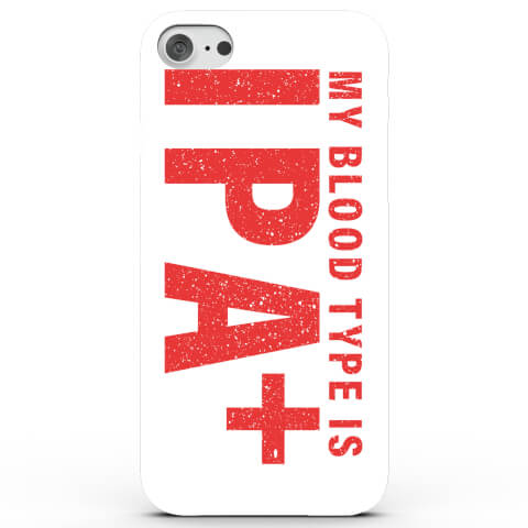 Coque iPhone & Android My Blood Type is IPA Plus - 4 Couleurs