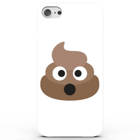 Coque iPhone & Android Emoji Caca - 4 Couleurs