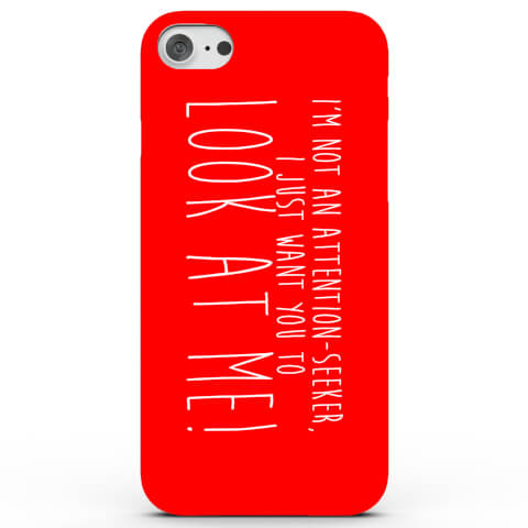 Coque iPhone & Android Attention Seeker - 3 Couleurs