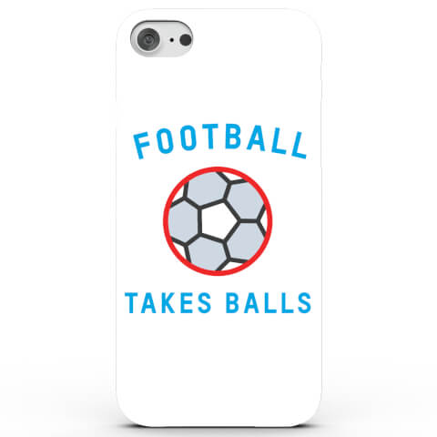 Coque iPhone & Android Football Takes Balls - 4 Couleurs