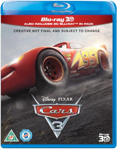 Cars 3 3D (Includes 2D Version)
