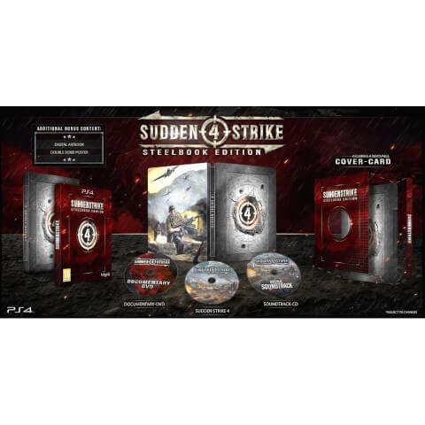 Sudden Strike 4 Limited Edition Steelbook