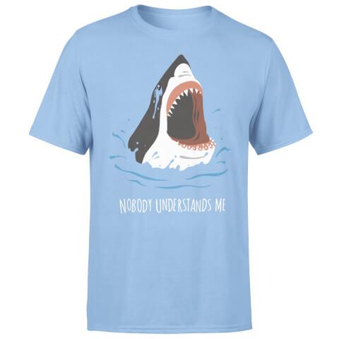 Nobody Understands Me Shark Light Blue T-Shirt