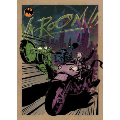 DC Comics Metal Poster - Gotham City Motor Club Gotham City MC (32 x 45cm)