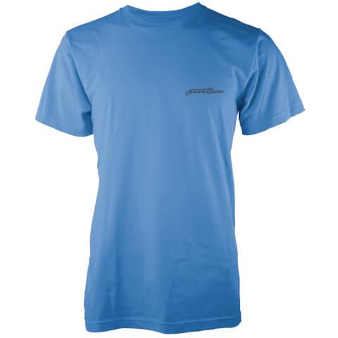 Native Shore Men's Core Logo T-Shirt - Blue