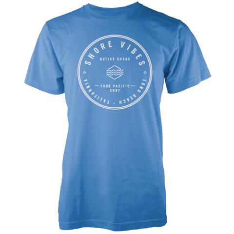 T-Shirt Homme Shore Vibes Native Shore - Bleu