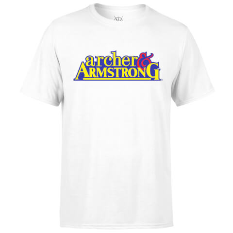 Valiant Comics Classic Archer and Armstrong Logo T-Shirt - White
