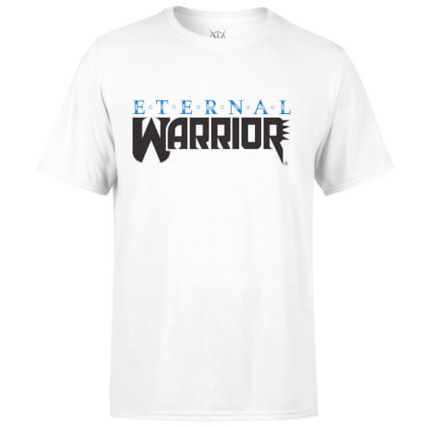 Valiant Comics Classic Eternal Warrior Logo T-Shirt - White