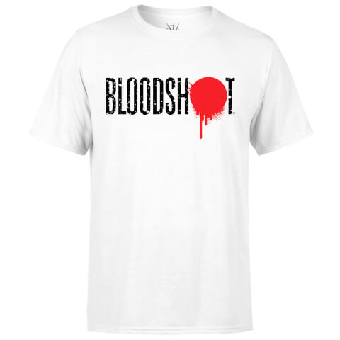 Valiant Comics Bloodshot New Logo T-Shirt - White