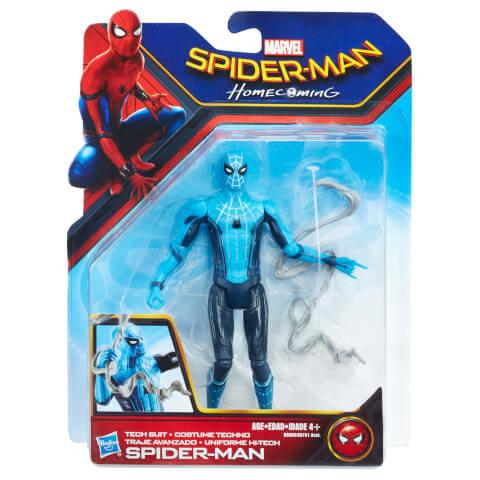 Figurine Hasbro Spider-Man Homecoming Action Figure - Spider-Man Costume Tech