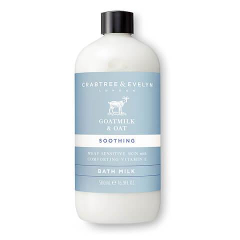 CRABTREE & EVELYN | Crabtree & Evelyn Goatmilk & Oat Bath Milk 500ml | Goxip