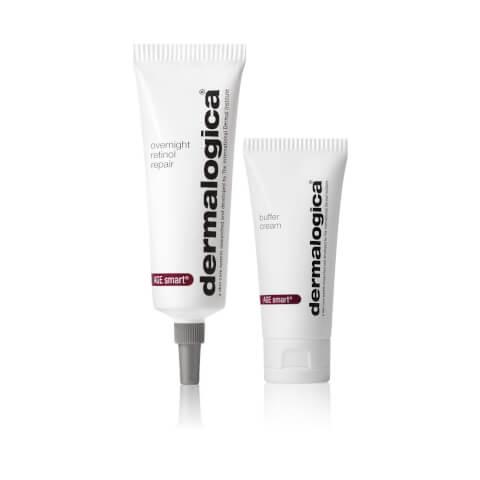 Dermalogica Overnight Retinol Repair 1% (25ml) and Buffer Cream (15ml)