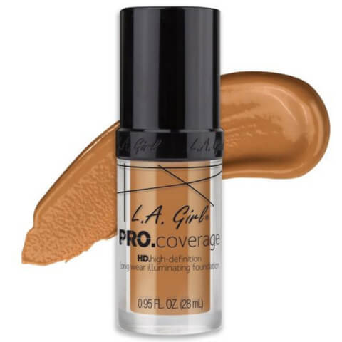 L.A. Girl Pro.Coverage HD Illuminating Foundation - Warm Beige 28ml