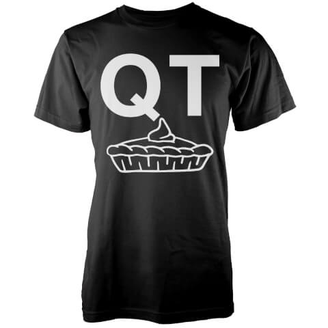QT Pie T-Shirt - Black