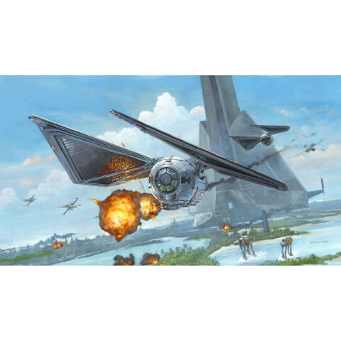 Star Wars: Rogue One - Scarif Striker Print by Acme Archive's Artist Bryan Snuffer - 19 x 13 Inches