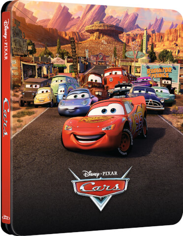 Cars - Zavvi Exclusive Limited Edition Steelbook