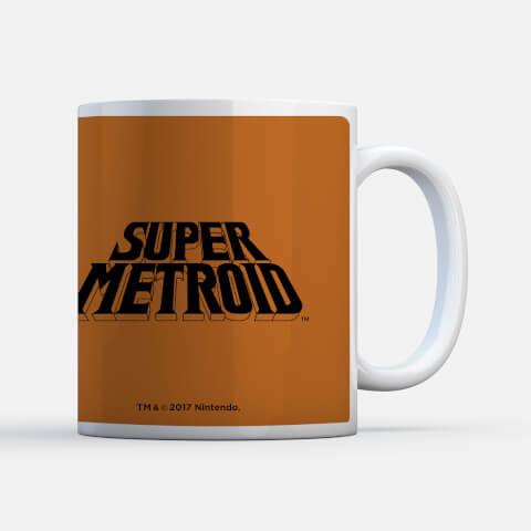 Nintendo Super Metroid Power Suit instructional Mug