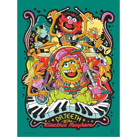 Disney - The Muppets/Dr. Teeth Print by James Carroll (457mm x 610mm)