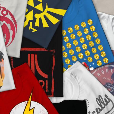 Zavvi Mystery Licence T-Shirt - Pack of 5
