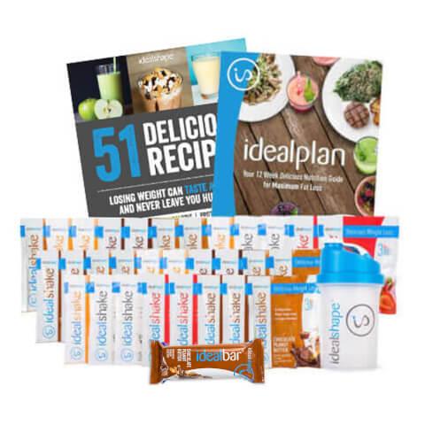 IdealShake 30 Count Sampler + IdealBars (Chocolate Peanut Butter) & Shaker
