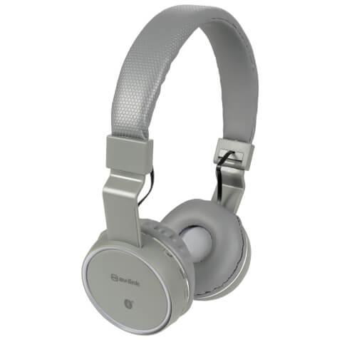 AV: Link Wireless Bluetooth On-Ear Noise Cancelling Headphones (With Built-in FM Radio) - Dark Grey