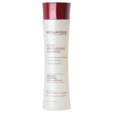 Keranique Scalp Replenishing Damage Control Shampoo 8oz