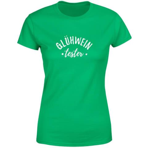 Gluhwein Tester Women's T-Shirt - Kelly Green