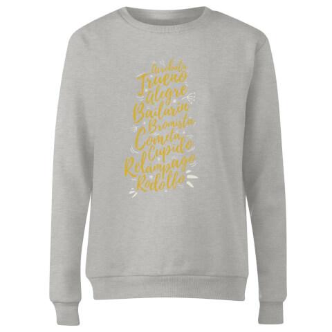 International Reindeer Women's Sweatshirt - Grey