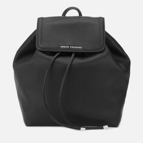 ARMANI EXCHANGE | Armani Exchange Women's Backpack - Black | Goxip