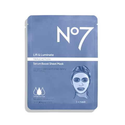 Lift & Luminate Triple Action Serum Boost Sheet Mask