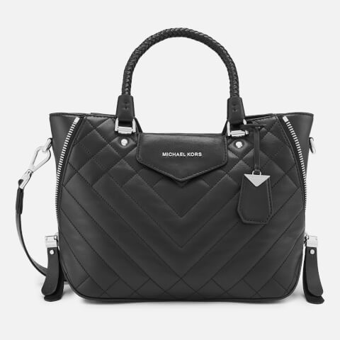 MICHAEL MICHAEL KORS | MICHAEL MICHAEL KORS Women's Blakely Medium Messenger Bag - Black | Goxip