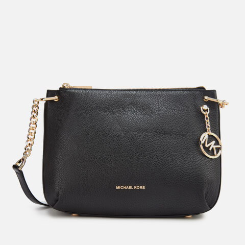 MICHAEL MICHAEL KORS | MICHAEL MICHAEL KORS Women's Lillie Large Messenger Bag - Black | Goxip