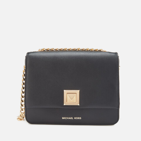 MICHAEL MICHAEL KORS | MICHAEL MICHAEL KORS Women's Sylvia Medium Messenger Bag - Black | Goxip
