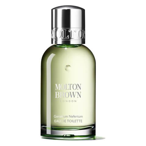 MOLTON BROWN   Molton Brown Geranium Nefertum Eau De Toilette (Various Sizes) - 50ML   Goxip