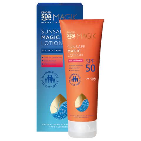 DEAD SEA SPA MAGIK | Dead Sea Spa Magik Sunsafe SPF50 Magic Lotion 75ml | Goxip