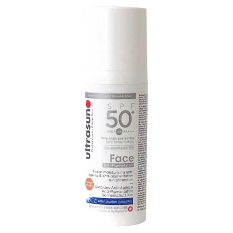 ULTRASUN | Ultrasun Tinted Anti-Pigmentation SPF50+ Face Lotion 50ml | Goxip