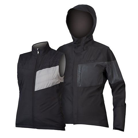 Women's Urban Luminite 3 in 1 Jacket II - Black