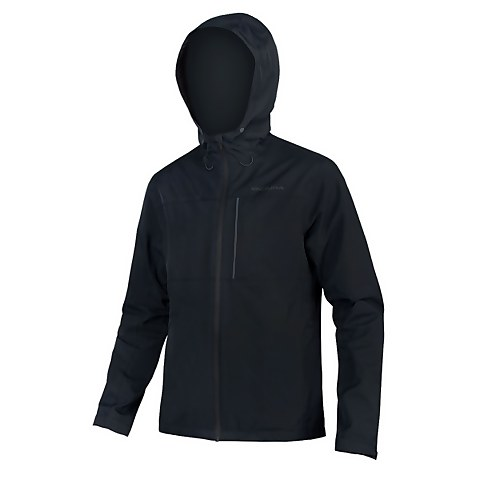 Hummvee Waterproof Hooded Jacket - Black
