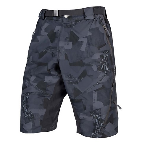 Hummvee Short II with liner - Grey Camo