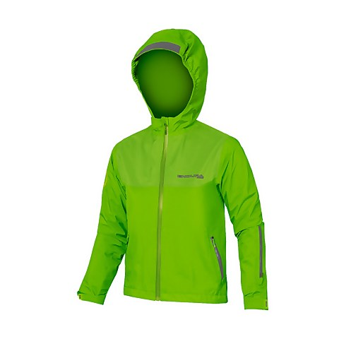 Kids MT500JR Waterproof Jacket - Hi-Viz Green