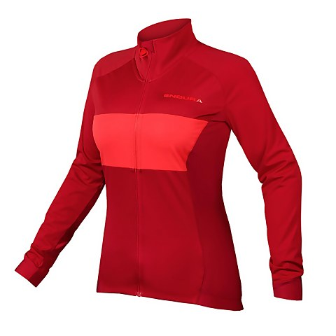 Women's FS260-Pro Jetstream L/S Jersey II - Rust Red